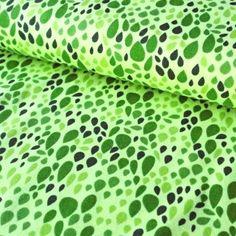 č.2951 kapky zelené - úplet