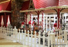Hilton Anatole holiday scenes