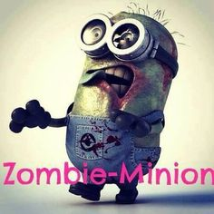 Two of my favorite things put together, zombie minion