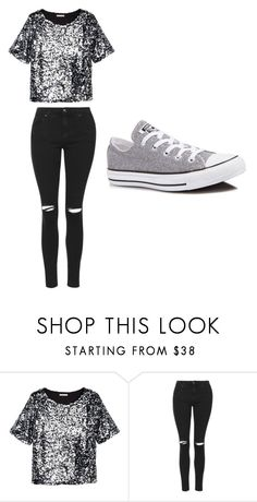 """Untitled #204"" by sierrapalmer10 on Polyvore featuring H&M, Topshop and Converse"