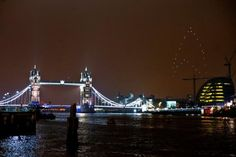 LED quadrotors form 'Star Trek' logo over London | Crave - CNET
