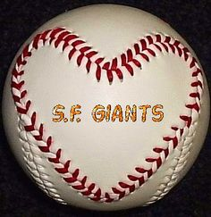 I LOVE MY SAN FRANCISCO GIANTS!!