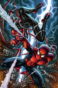 The Amazing & Superior Spider-Man both from (Earth-616)