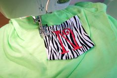 How to Sew a Pocket on a T-shirt (with pictures) | Live Here -><- Learn Here