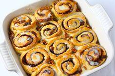 Kaneelbroodjes met vanille frosting - Francesca Kookt