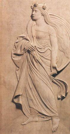 AGOSTINO DI DUCCIO Italian sculptor (b. 1418, Firenze, d. 1481, Perugia) Philosophy c. 1456 Marble Tempio Malatestiano, Rimini