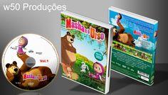 Masha E O Urso Vol.1 - Capa 2 - ➨ Vitrine - Galeria De Capas - MundoNet | Capas & Labels Customizados