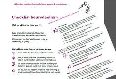Tekstschrijven checklisten en andere downloadbare content, contentmarketing - Expo Display Service