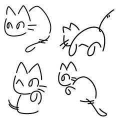 one line cat tattoo - Google keresés