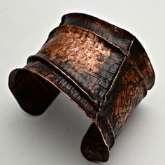 how to make a form folded cuff bracelet - Google Search