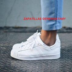 862c2b9c2819d Adidas Women Shoes - Sneakers femme - Adidas Superstar white whiteaddicted  - We reveal the news in sneakers for spring summer 2017