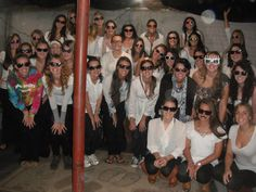 The sisters at SUNY New Paltz (Phi Phi chapter) have themes for their meetings.....here is a picture from their sunglasses meeting :0)