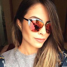 Yandra é nossa top cliente que arrasa no visual e nas selfies! ♥ #linda #clientewanny #oticaswanny