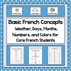 $ French as a Second Language (FSL) Bundle for Beginning Tea