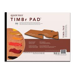 30 x 40cm Rectangular - TIMBr Disposable Palette - New Wave