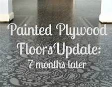 Painted Plywood Floors - Bing Images
