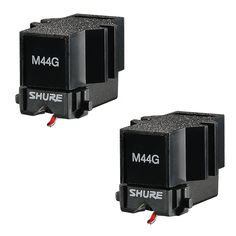 Shure: M44G Cartridge - Twin Pack Turntable Cartridge, Better Music, Music Store, Concorde, Twin, Stuff To Buy, Autos, Twins