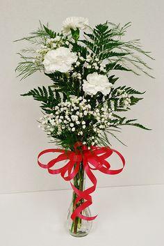 Heather's carnation bud vase