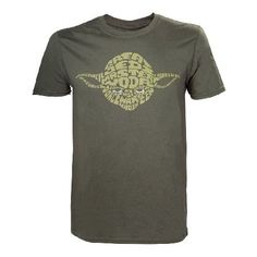 Star Wars Adult Male Yoda Word Play T-shirt This extra large premium quality t-shirt is made from 100% cotton for a long lasting fit is professionally stitched and has a officially licensed merchandise design inspired by this popular licenseFea http://www.MightGet.com/march-2017-1/star-wars-adult-male-yoda-word-play-t-shirt.asp