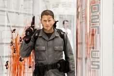 """autographed photo of Wentworth Miller as Chris Redfield from the """"Resident Evil"""" franchise! Wentworth Miller, Carlos Resident Evil, Resident Evil Franchise, Leonard Snart, Movie Kisses, Michael Scofield, Side Swept Hairstyles, Perfect Movie, Ali Larter"""
