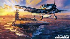 Nicolas Trudgian Hellcat Aviation Art Print