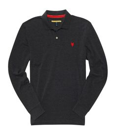 ORIGINAL Aeropostale mens prince & fox solid pique polo shirt BLACK,RED L,XL,XXL #Aeropostale #PoloRugby