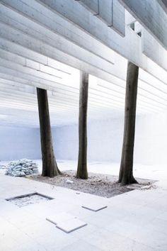 Nordic Pavilion, Venice, Sverre Fehn