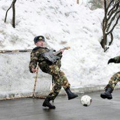Those crazy Russians...