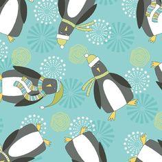 Wilmington Prints, Christmas Fabric, Fabulous Fabrics, Fabric Shop, Haberdashery, Clothing Patterns, Cuddling, Penguins, Flannel