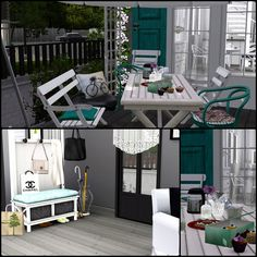 Simberry / Romance Ave. / Sims 3 / Downloads / Hall / Terrace