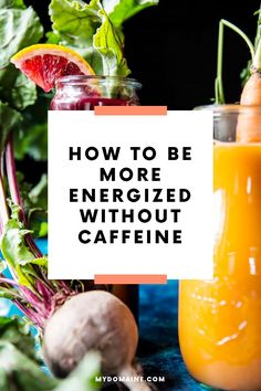 How to be more energized