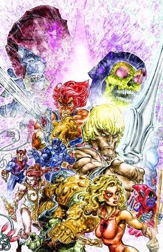 DEAL OF THE DAY He Man Thundercats #2 (of 6) - $3.59 Retail Price: $3.99 You Save: $0.40 He-Man has lost control of his Power Sword...just as he's forced to battle dozens of mutants and minions of evil from two worlds-Evil-Lyn, Slithe, Beastman, Jackalman and more! will any man help He-Man stand against the forces of evil?  TO BUY CLICK ON LINK BELOW http://tomatovisiontv.wix.com/tomatovision2#!comics/cfvg