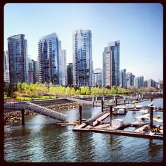 Stunning day downtown #InstagramYourCity for Vancouver - @marksmayo- #webstagram