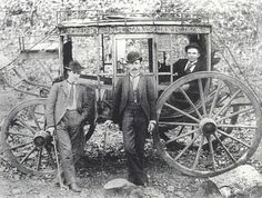 On January James-Younger gang robbed their first stagecoach in Hot Springs,Arkansas.Present at this robbery was Jesse,Frank,Cole. Old West Photos, Rare Photos, Vintage Pictures, Old Pictures, Us History, American History, Old West Outlaws, Hot Springs Arkansas, Into The West