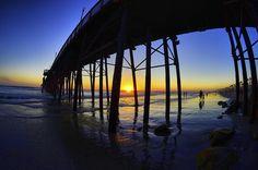 Oceanside Pier at Sunset - September 1, 2012