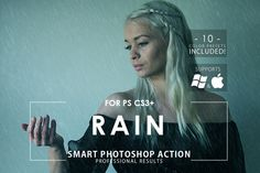 Rain Photoshop Action by ArtistMef on Creative Market