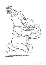 Winnie the Pooh coloring pages on Coloring-Book.info