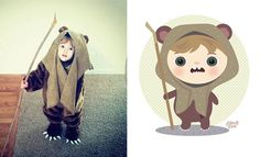 I Take Children's Photos From The Internet And Turn Them Into Playful Illustrations | Bored Panda