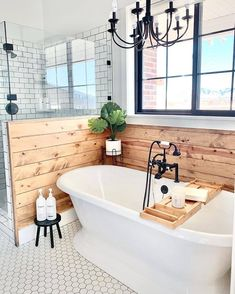 master bathroom House, Home, Home Remodeling, New Homes, House Interior, Modern Farmhouse Bathroom, Bathrooms Remodel, Modern Farmhouse Decor, Farmhouse Bathroom Decor
