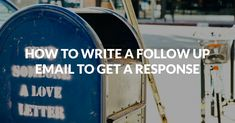 A great follow up email is a powerful weapon in marketing and sales. 5 great examples of templates to use in your next follow up email campaign - finally get those responses. We also prepared extra information where we describe all templates.