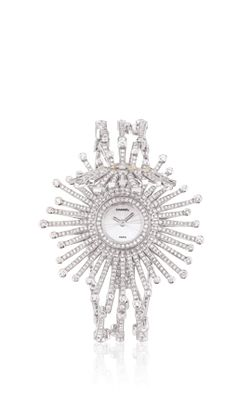 Chanel - WATCH IN 18K WHITE GOLD, YELLOW DIAMONDS AND DIAMONDS