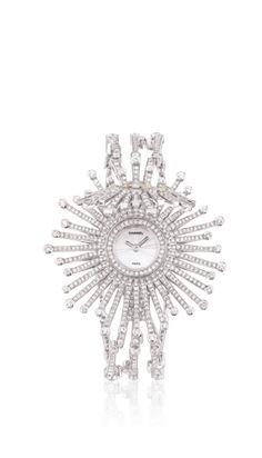 Chanel - WATCH IN 18K WHITE GOLD, YELLOW DIAMONDS AND DIAMONDS