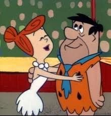 The Flintstones Fred and Wilma