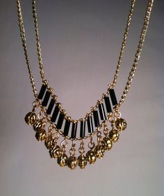 Hey, I found this really awesome Etsy listing at https://www.etsy.com/listing/161527927/handmade-jewelry-black-golden-rose