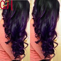 169.00$  Watch now - http://aligj2.worldwells.pw/go.php?t=2034043485 - Hot hairstyle #1b/purple ombre wig 130% body wave perruque cheveux humain full lace wigs/glueless lace front human hair wig 169.00$