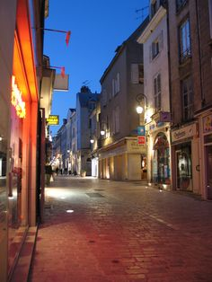 Orleans, France- I can't wait to walk these streets again in May.