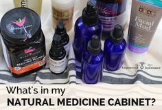 How to Stock a Natural Medicine Cabinet