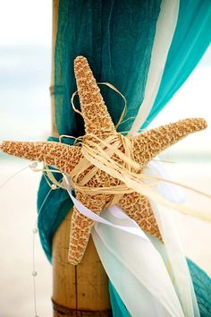 Starfish on archway