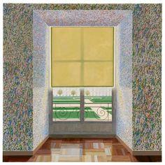 David Hockney Exhibition at Centre Pompidou Paris Contemporary Paintings, Modern Contemporary, Picasso, David Hockney Art, Centre Pompidou Paris, Pop Art Movement, Garage Art, French Style, Style Français