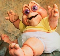 "Baby Sinclair. ""Gotta love me, I'm the baby!"" - I love this series <3  "" Not the Momma """